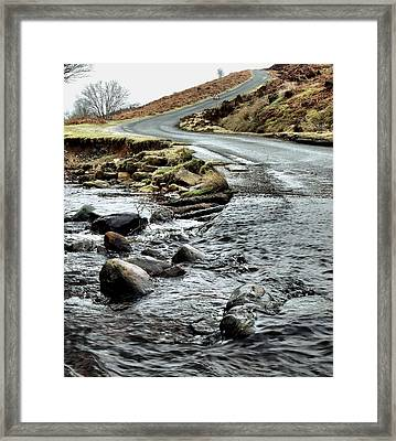 Dalby Forest Ford Framed Print