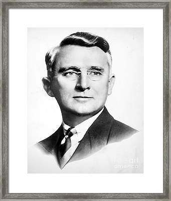 Dale Carnegie (1888-1955) Framed Print by Granger