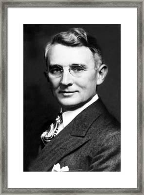 Dale Carnegie, C. 1937 Framed Print