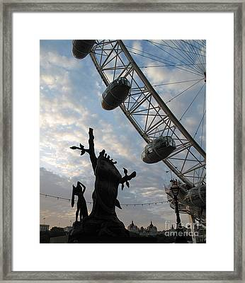 Framed Print featuring the photograph Dali And Eye by Louise Peardon