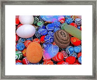 Dali Marbles Framed Print
