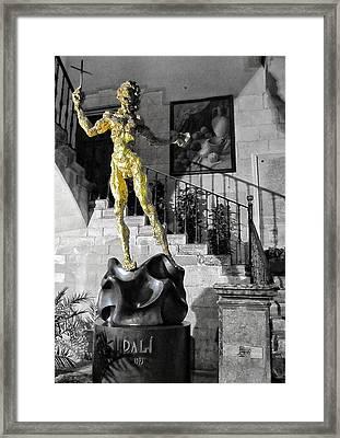 Dali Framed Print by Marianna Mills