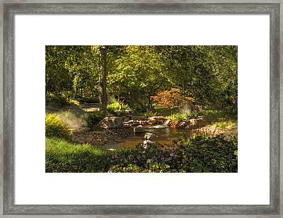 Dallas Arboretum Framed Print