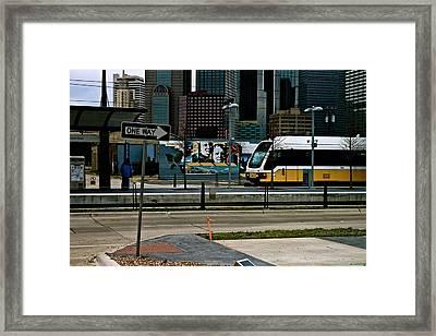 Dallas Framed Print by Snow  White