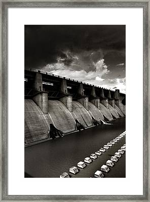 Dam-it Framed Print