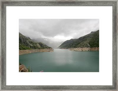 Dam Reservoir Framed Print by Michael Szoenyi