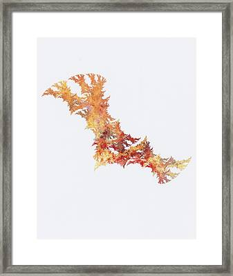 Damaged Dna Framed Print by Ken Walters