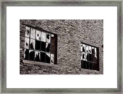 Damaged Framed Print by Scott Hovind