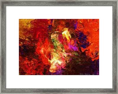 Damnation Framed Print by David Lane