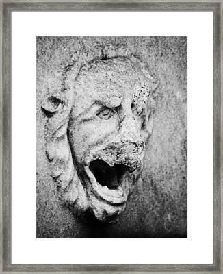 Damnation Framed Print by DiDi Higginbotham