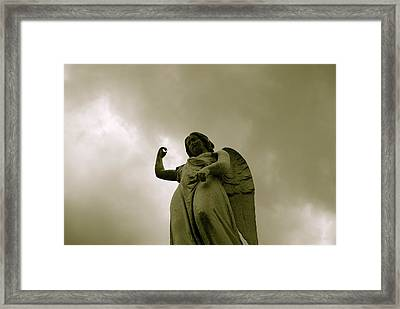 Damned Framed Print by Thomas Brown