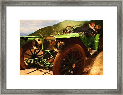 Damsel In Distress - 7d17504 Framed Print by Wingsdomain Art and Photography