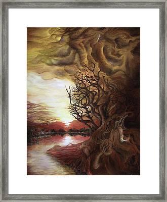 Dan Scurtu - Sunset Framed Print by Dan Scurtu