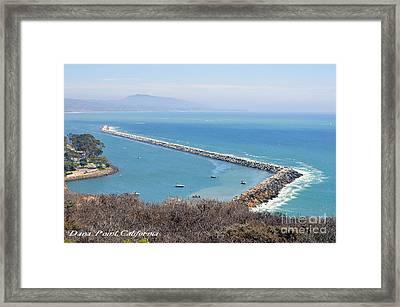 Dana Point California 9-1-12 Framed Print by Clayton Bruster