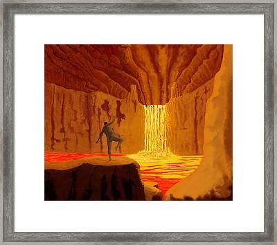 Dance In Hell Framed Print by Tim Stringer