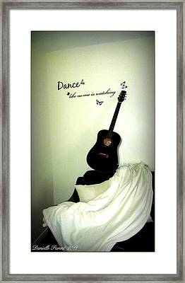 Dance Like No One Is Watching  Framed Print by Danielle  Parent