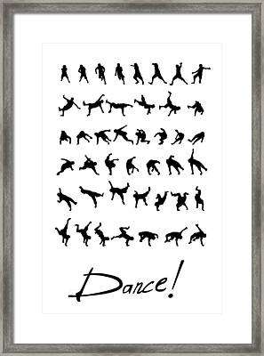 Dance Framed Print by Netta Canfi