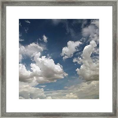 Dance Of The Clouds - Series Framed Print by Glenn McCarthy Art and Photography
