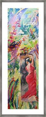 Dance Of The Flowers Framed Print