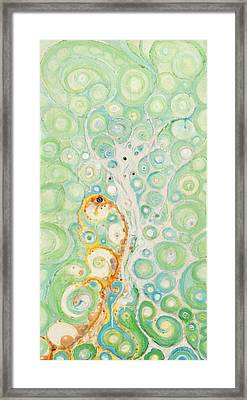 Framed Print featuring the painting Dance Of The Yinyangs by Douglas Fromm