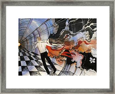 Dance To The End Of Time Framed Print by Valentina Plishchina