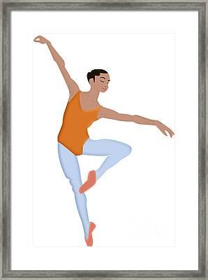 Dancer Framed Print by Melissa Stinson-Borg