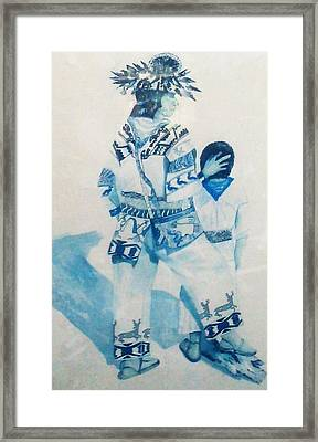 Dancer Framed Print by Unique Consignment