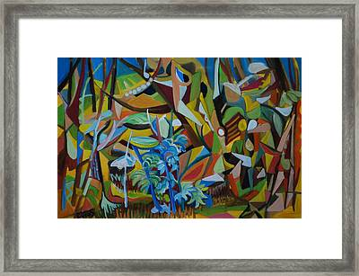 Dancers Of The Forests Framed Print