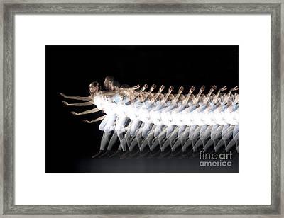 Dancers Framed Print by Ted Kinsman