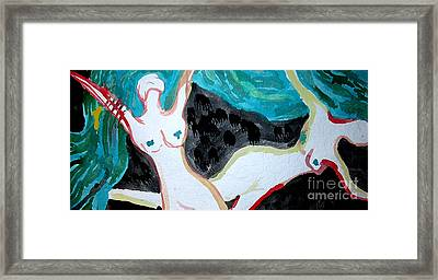 Framed Print featuring the painting Dancing by Amy Sorrell