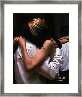 Dancing Framed Print by Anne Ferguson