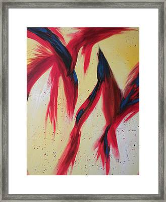 Dancing Birds Framed Print