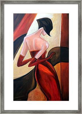 Dancing Diva Framed Print