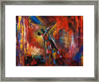 Dancing In The Woods Framed Print