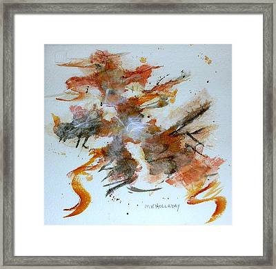 Dancing Framed Print by Mary Kay Holladay