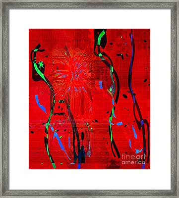 Dancing People Framed Print by Fania Simon
