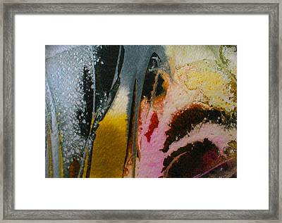 Framed Print featuring the painting Dancing With The West Wind by Mary Sullivan