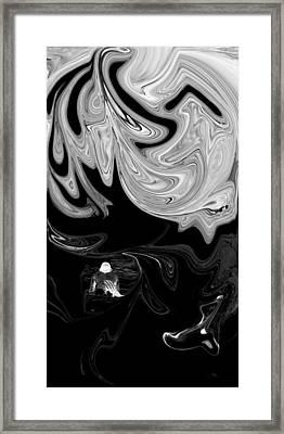 Dangerous Waters Framed Print by Elizabeth  Doran
