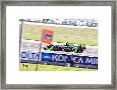 Danica Framed Print by Stan Kwong