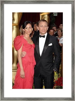 Daniel Craig At Arrivals For 81st Framed Print by Everett