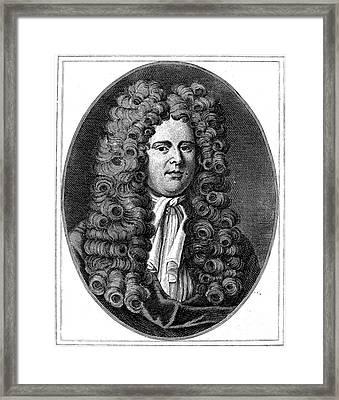 Daniel Defoe (c1659-1731) Framed Print by Granger