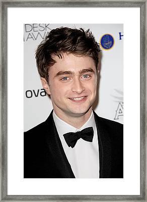 Daniel Radcliffe At Arrivals For 56th Framed Print