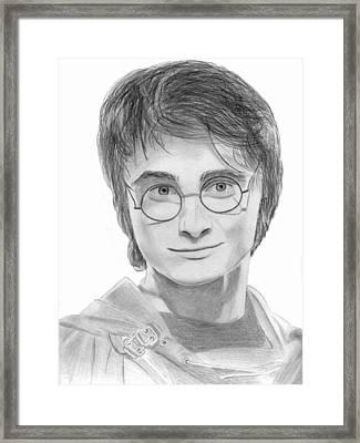 Daniel Radcliffe - Harry Potter Framed Print