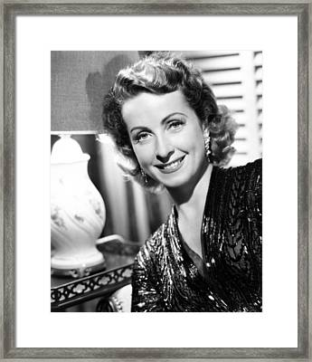 Danielle Darrieux, Publicity Still Framed Print by Everett