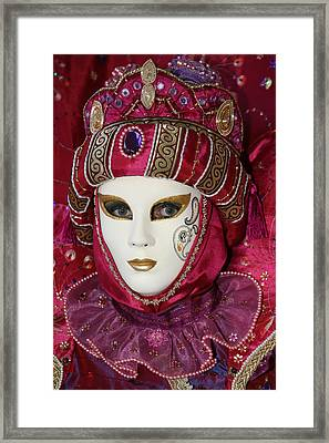 Danielle's Portrait Framed Print by Donna Corless