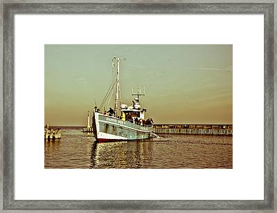 Danish Fishing Lessons Framed Print by Nick Karvounis