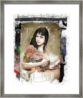 Dannie Diesel Framed Print