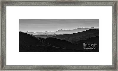 Dantes View Framed Print by Keith Kapple