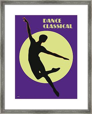 Classical Dancer Framed Print by Joaquin Abella
