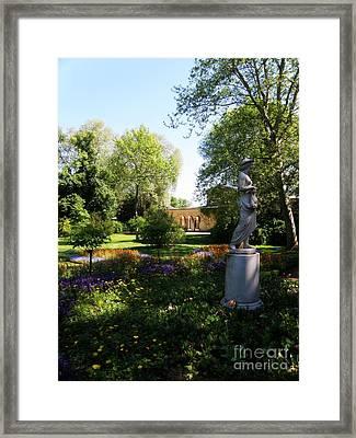 Dappled Light. Sanssouci Framed Print by Tanya  Searcy